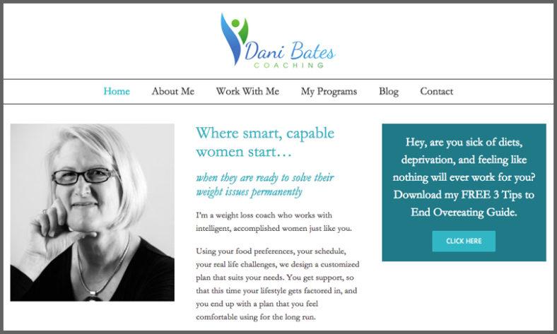 Dani Bates Weight Loss Coaching